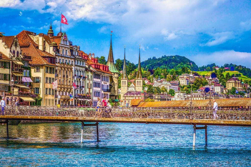 瑞士卢塞恩(Lucerne),漂亮小城_图1-26