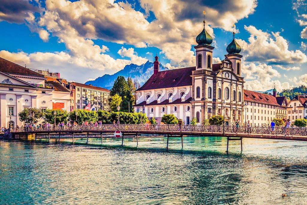 瑞士卢塞恩(Lucerne),漂亮小城_图1-28