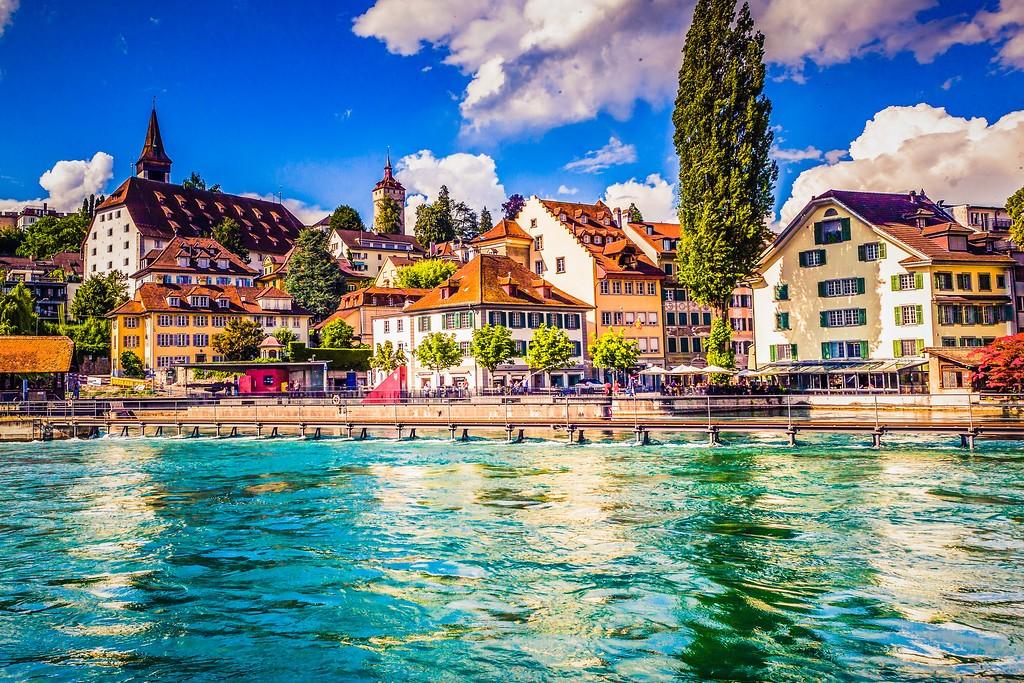 瑞士卢塞恩(Lucerne),漂亮小城_图1-24
