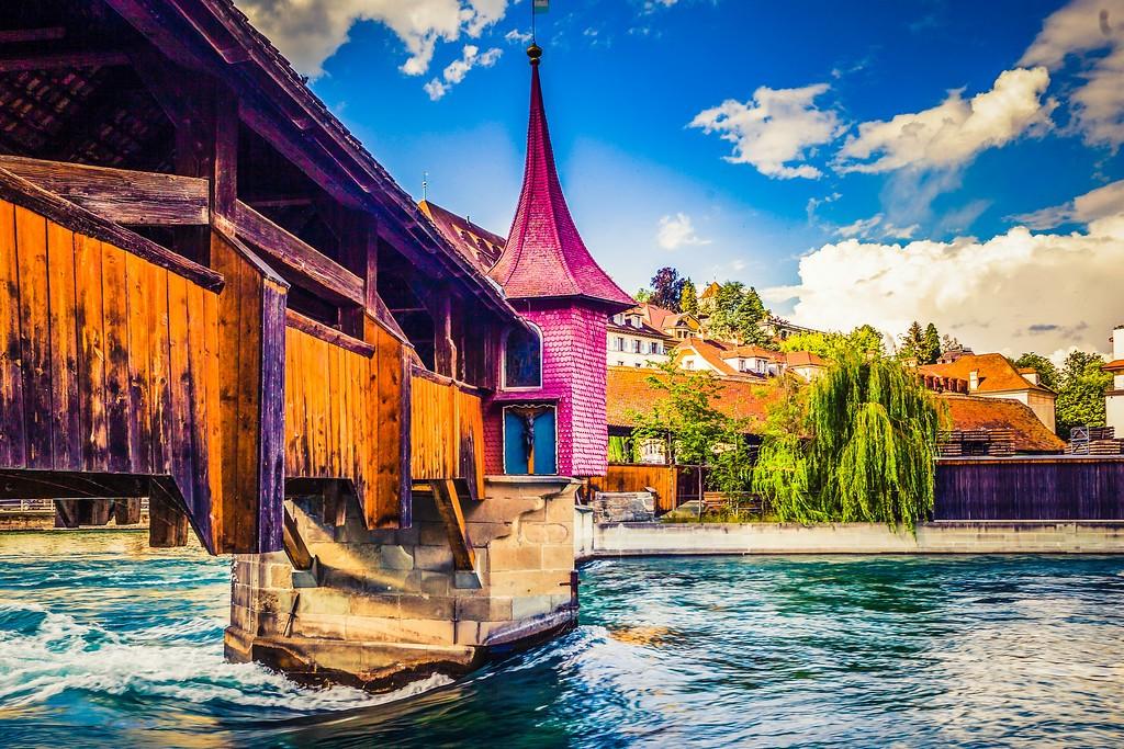 瑞士卢塞恩(Lucerne),漂亮小城_图1-23