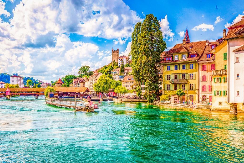 瑞士卢塞恩(Lucerne),漂亮小城_图1-22