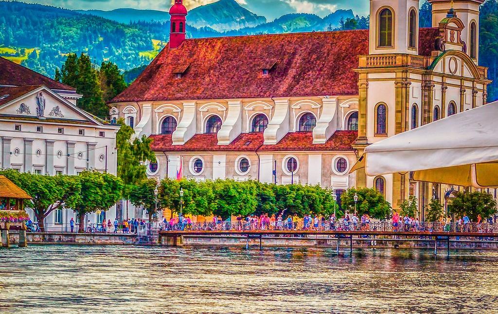 瑞士卢塞恩(Lucerne),漂亮小城_图1-21