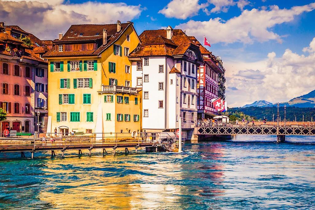 瑞士卢塞恩(Lucerne),漂亮小城_图1-17