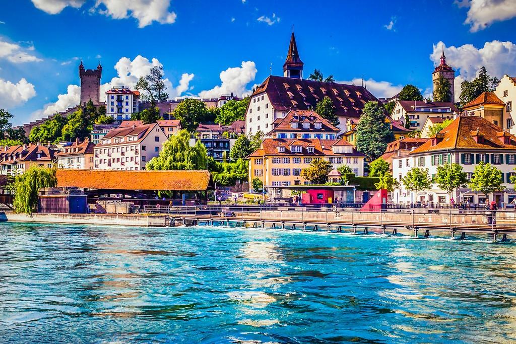 瑞士卢塞恩(Lucerne),漂亮小城_图1-18