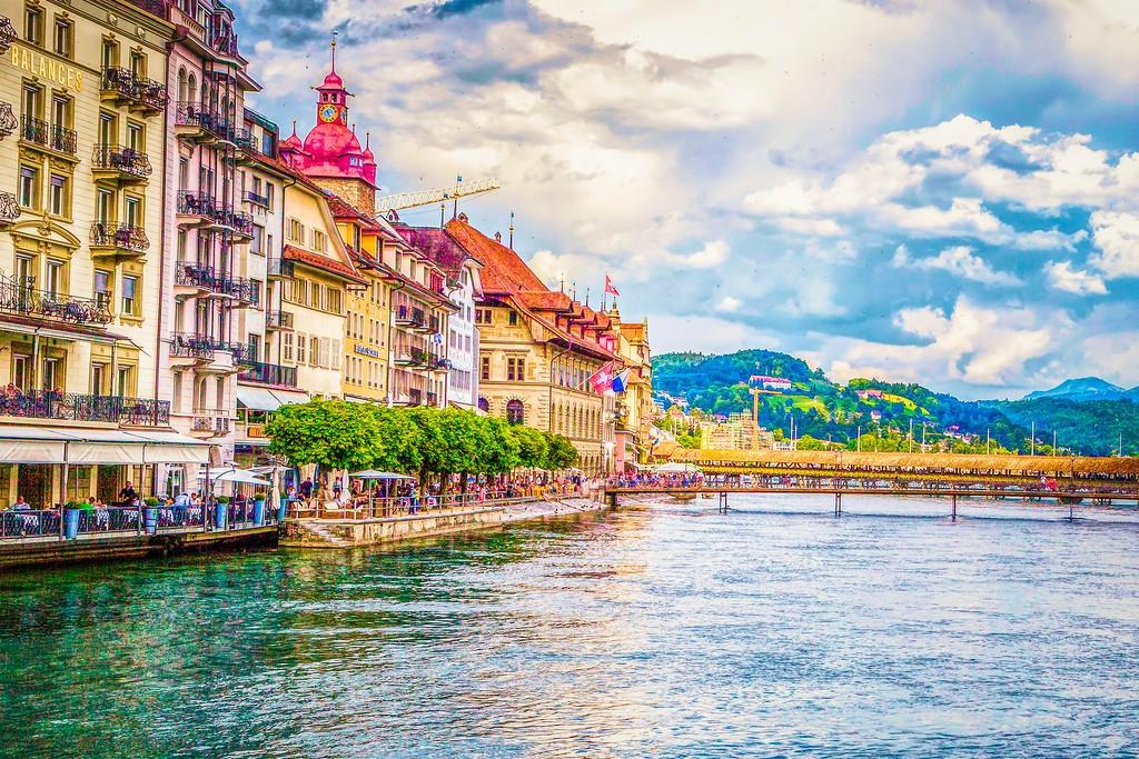 瑞士卢塞恩(Lucerne),漂亮小城_图1-20