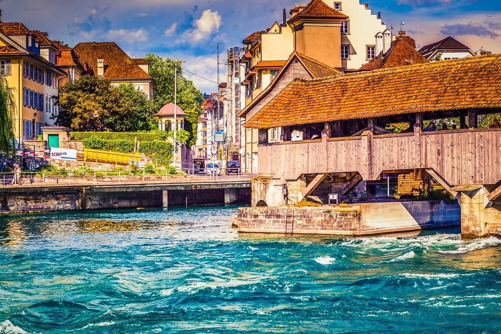 瑞士卢塞恩(Lucerne),漂亮小城_图1-2