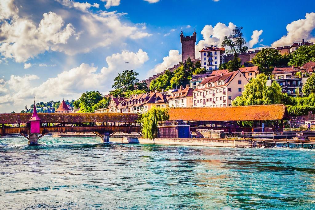 瑞士卢塞恩(Lucerne),漂亮小城_图1-8
