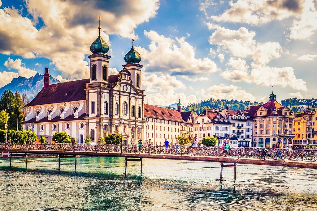 瑞士卢塞恩(Lucerne),漂亮小城_图1-6