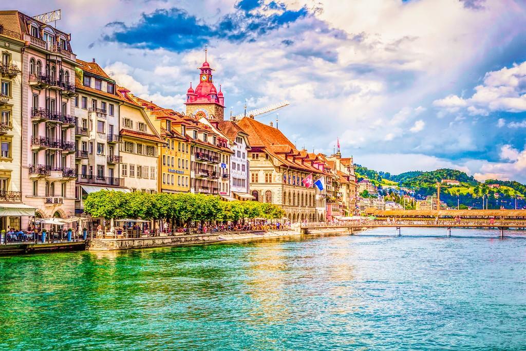 瑞士卢塞恩(Lucerne),漂亮小城_图1-10