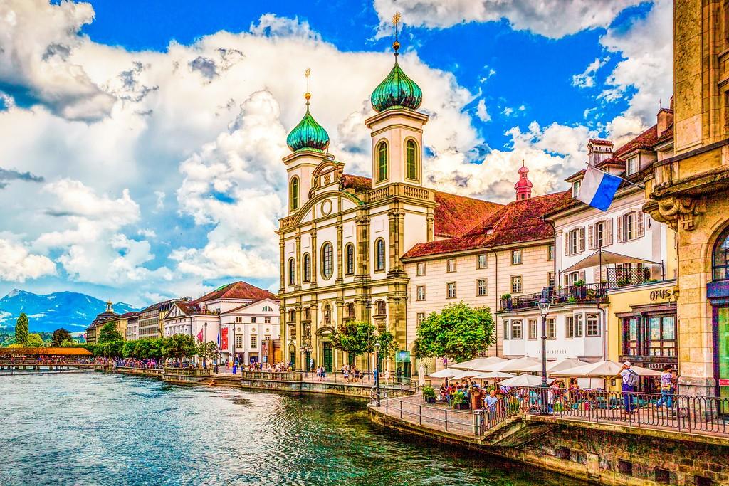 瑞士卢塞恩(Lucerne),漂亮小城_图1-14
