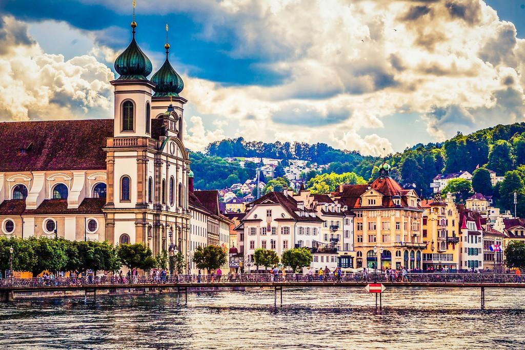 瑞士卢塞恩(Lucerne),漂亮小城_图1-12