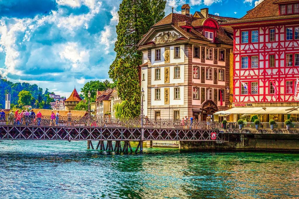 瑞士卢塞恩(Lucerne),漂亮小城_图1-11