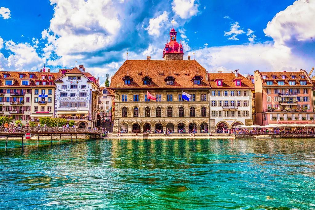 瑞士卢塞恩(Lucerne),漂亮小城_图1-13