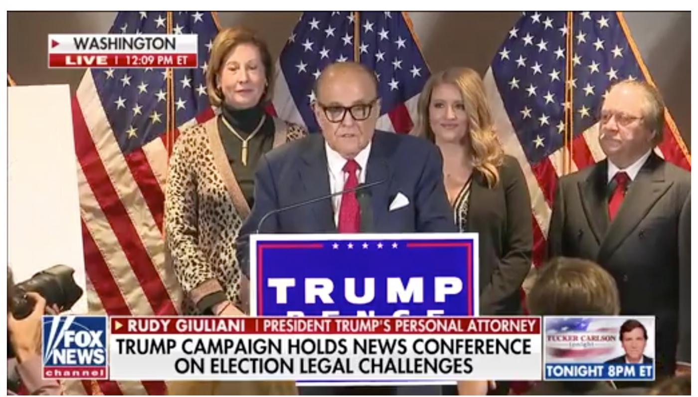 特朗普法律团队将起诉美国选举作弊_图1-1