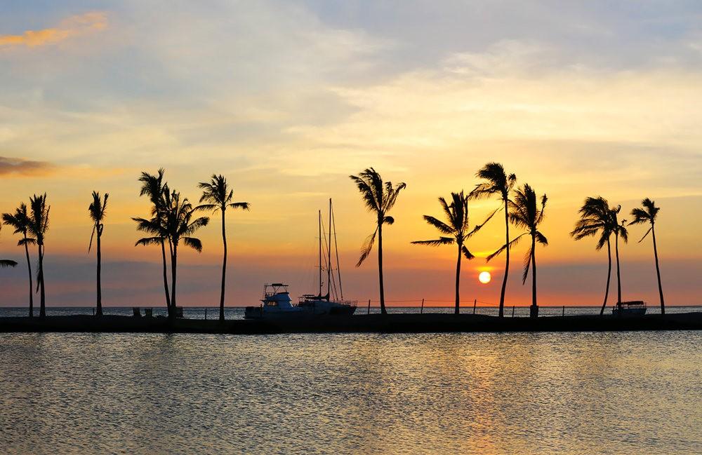 夏威夷的日落_图1-4