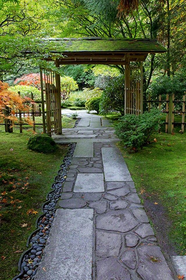 秋天的波特兰日本花园_图1-17