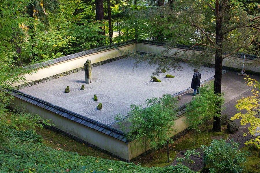 秋天的波特兰日本花园_图1-25