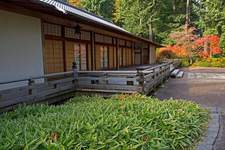 秋天的波特兰日本花园_图1-31