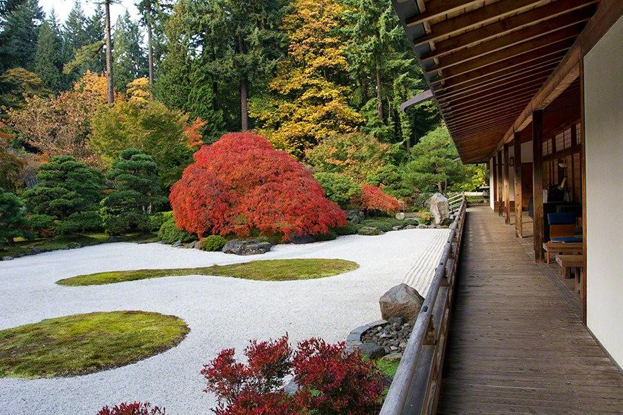 秋天的波特兰日本花园_图1-34