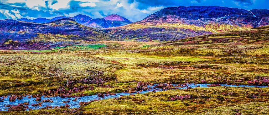 冰岛风采,自然彩图_图1-36