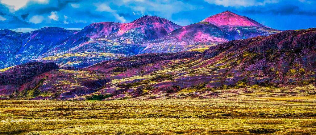 冰岛风采,自然彩图_图1-7