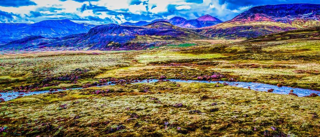 冰岛风采,自然彩图_图1-39
