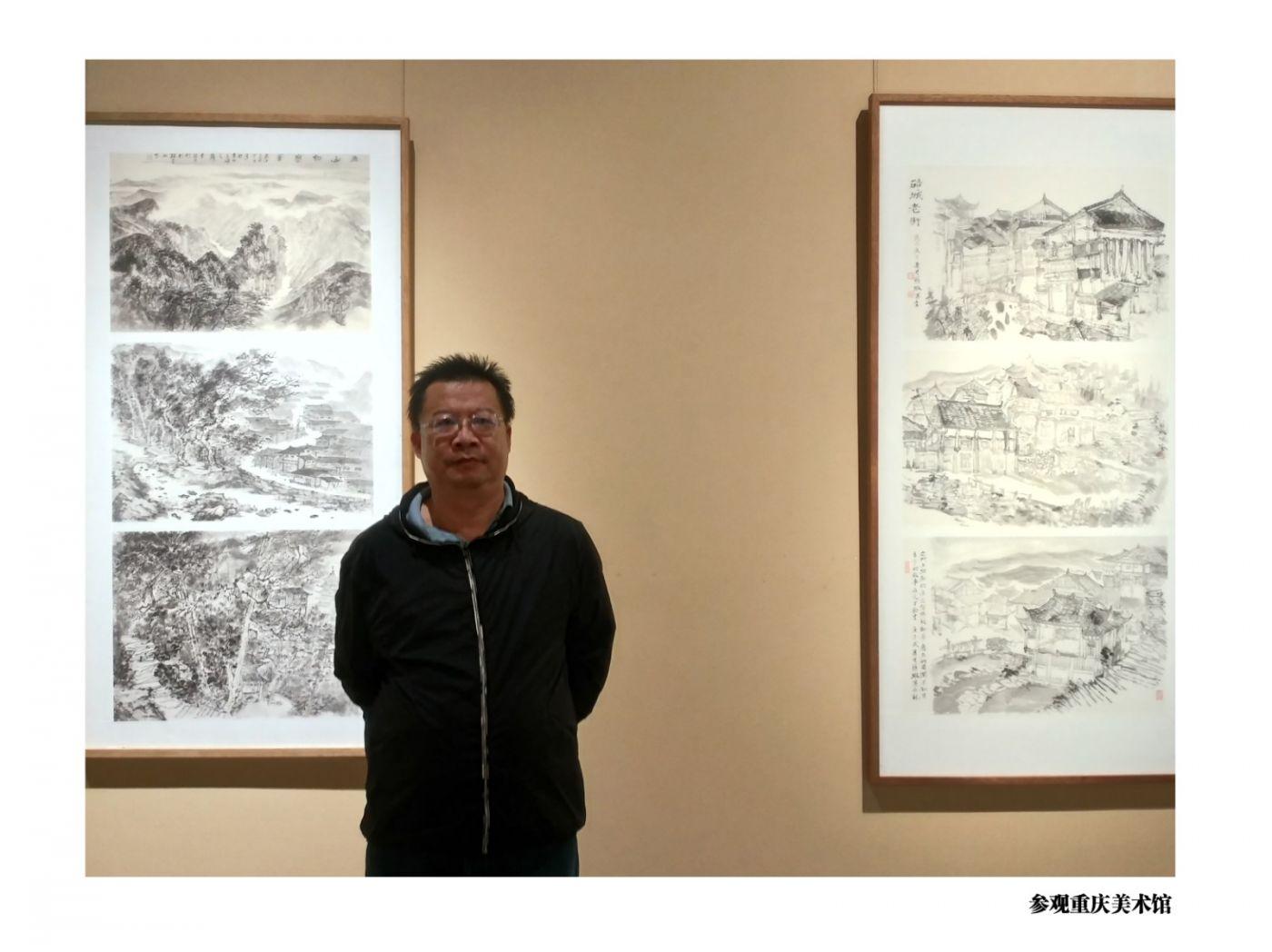 范建春老师写生中国之山城重庆_图1-6