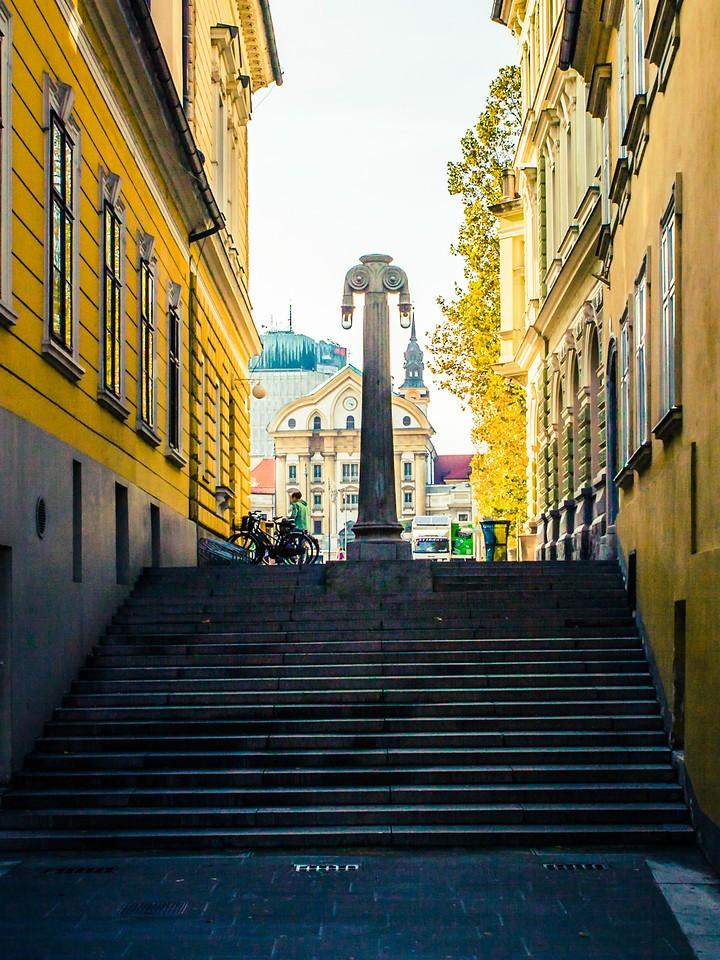 斯洛文尼亚首都卢布尔雅那(Ljubljana), 小巷文化_图1-4