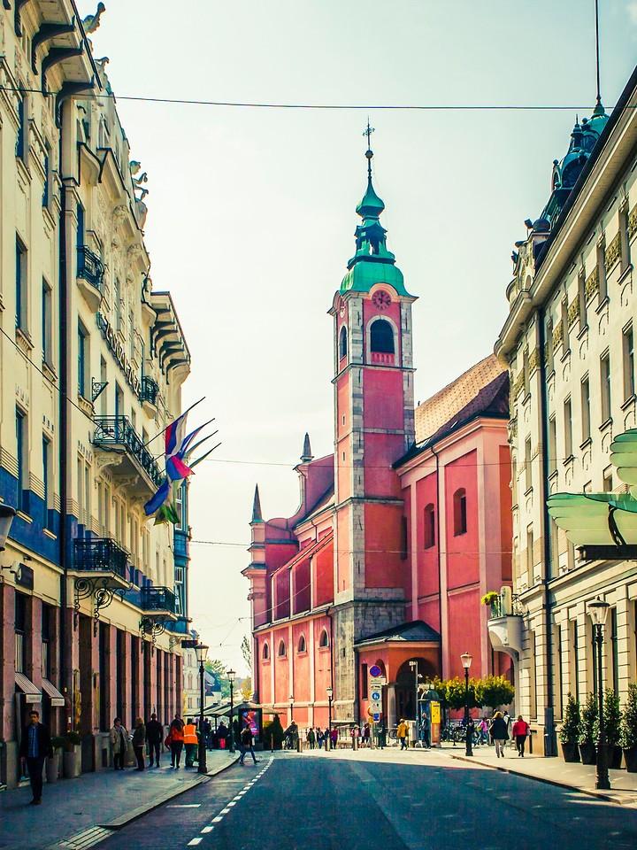 斯洛文尼亚首都卢布尔雅那(Ljubljana), 小巷文化_图1-8