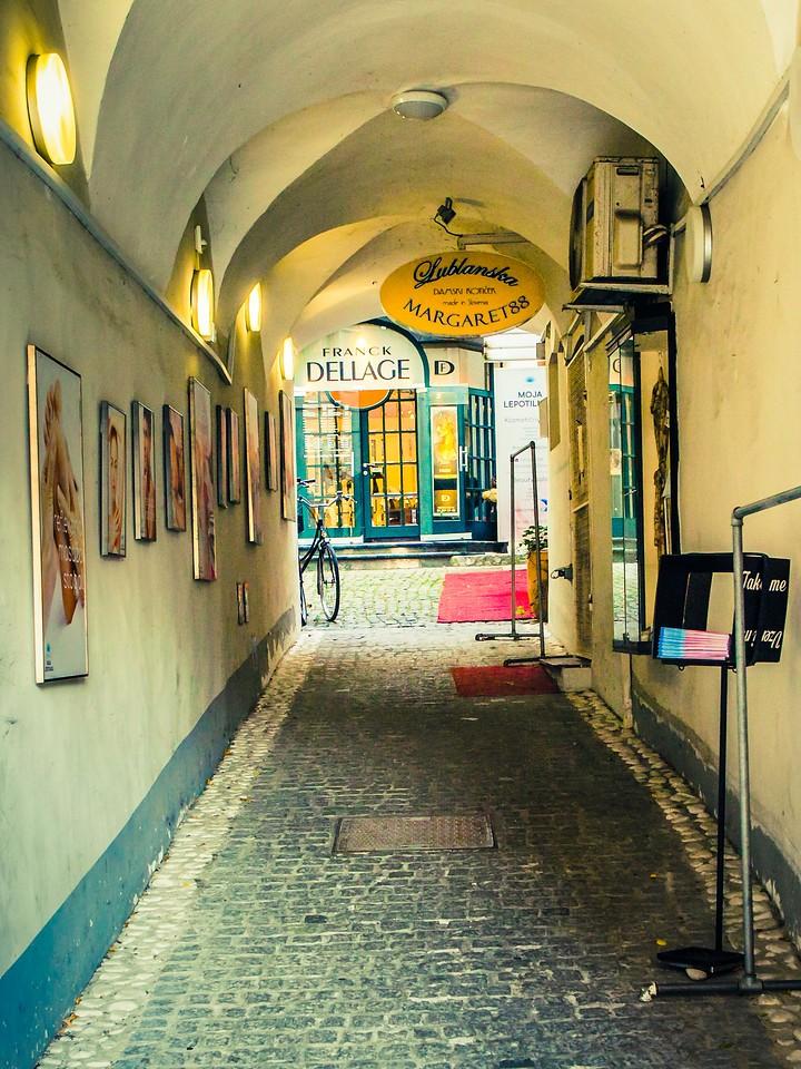 斯洛文尼亚首都卢布尔雅那(Ljubljana), 小巷文化_图1-7