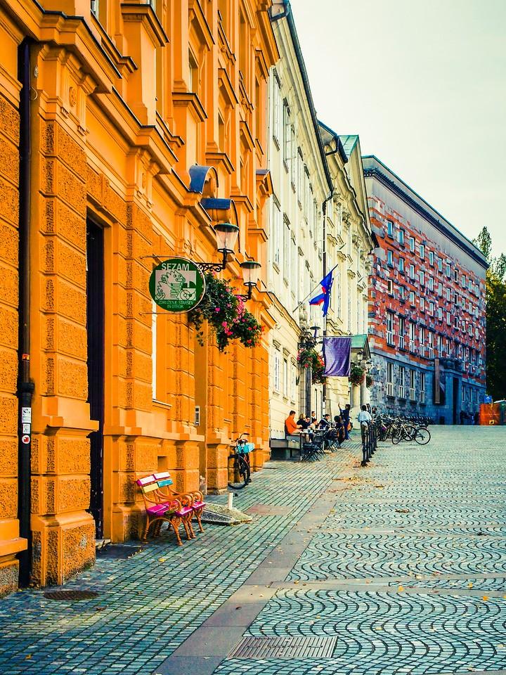 斯洛文尼亚首都卢布尔雅那(Ljubljana), 小巷文化_图1-6