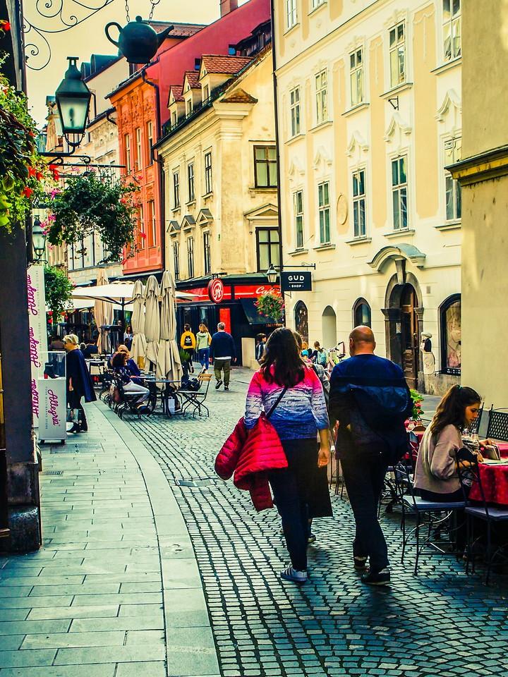 斯洛文尼亚首都卢布尔雅那(Ljubljana), 小巷文化_图1-10