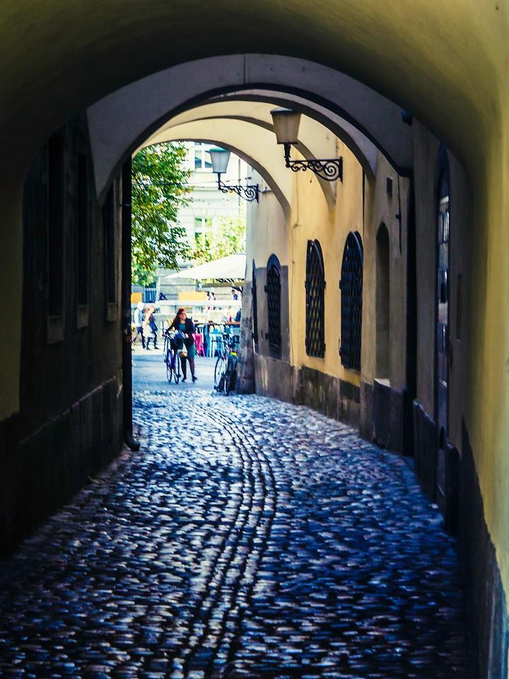斯洛文尼亚首都卢布尔雅那(Ljubljana), 小巷文化_图1-9