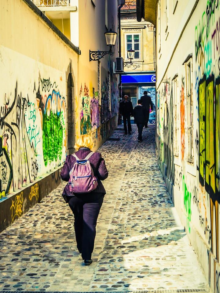 斯洛文尼亚首都卢布尔雅那(Ljubljana), 小巷文化_图1-15