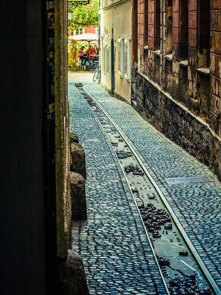 斯洛文尼亚首都卢布尔雅那(Ljubljana), 小巷文化_图1-19