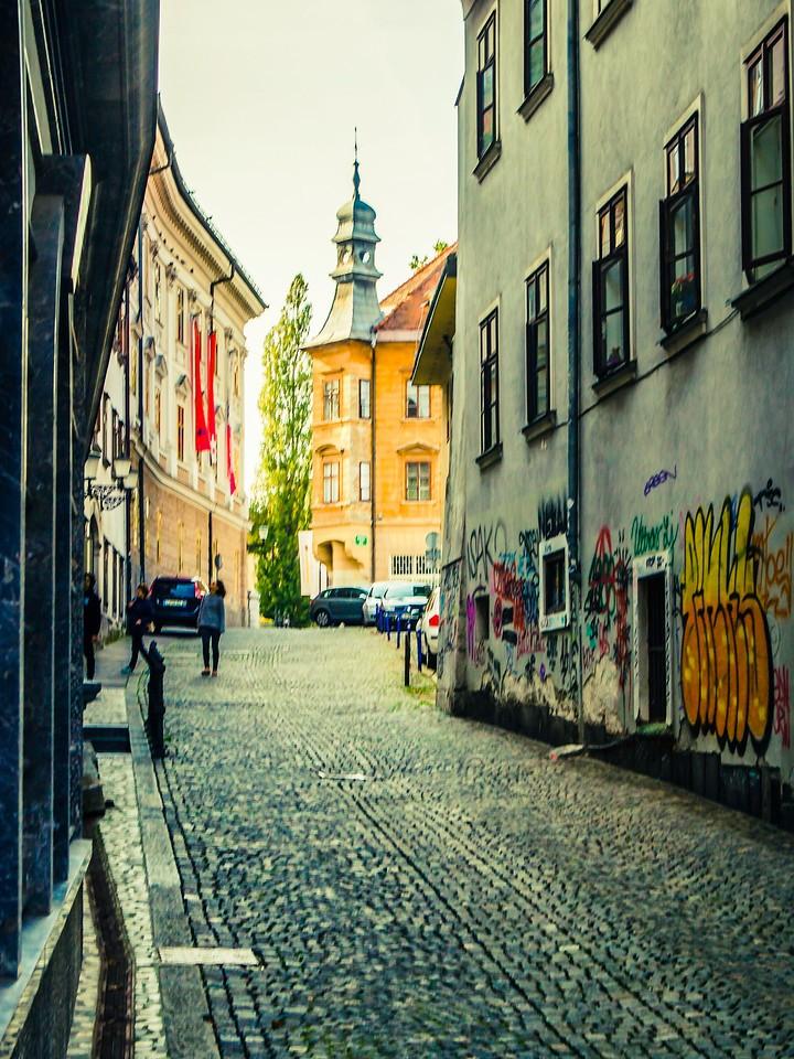 斯洛文尼亚首都卢布尔雅那(Ljubljana), 小巷文化_图1-20