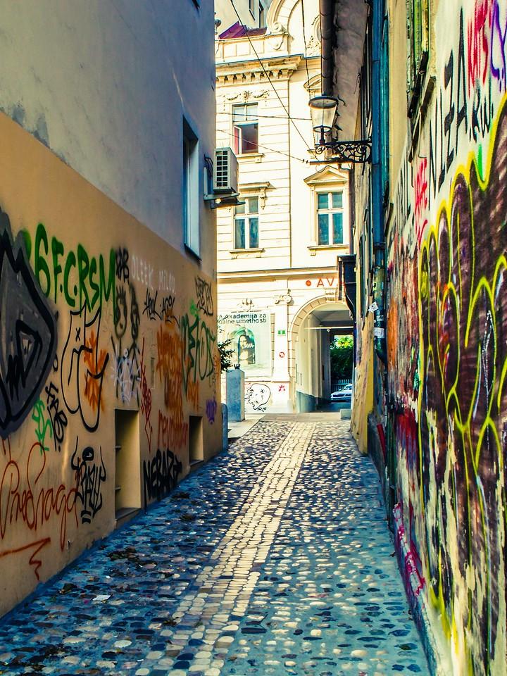 斯洛文尼亚首都卢布尔雅那(Ljubljana), 小巷文化_图1-18