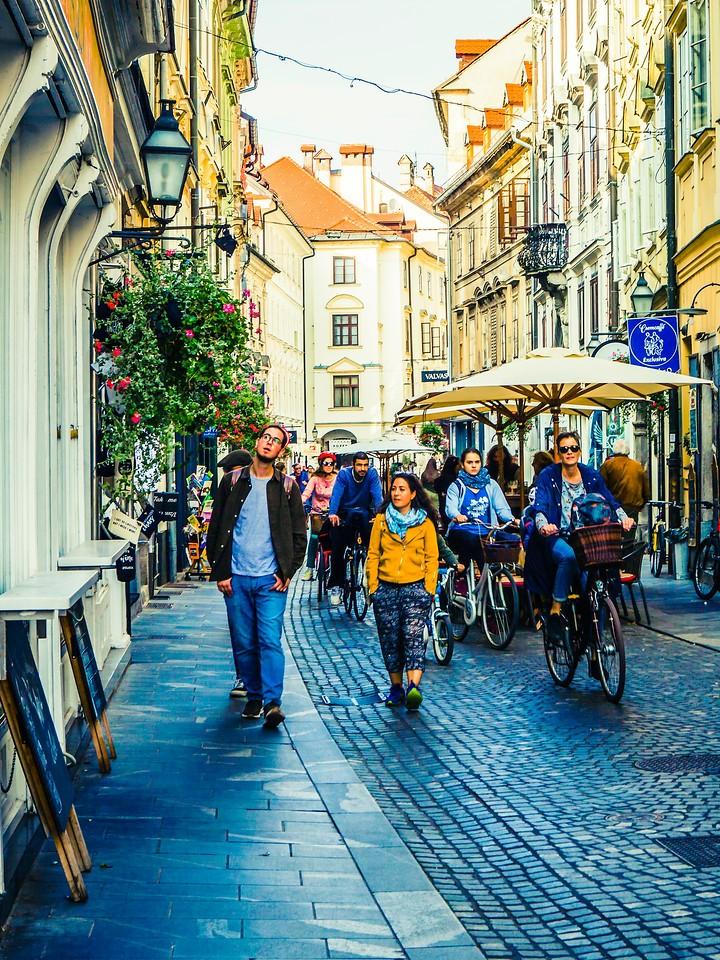 斯洛文尼亚首都卢布尔雅那(Ljubljana), 小巷文化_图1-26