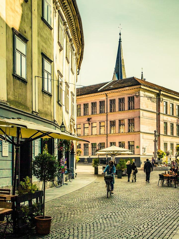 斯洛文尼亚首都卢布尔雅那(Ljubljana), 小巷文化_图1-23