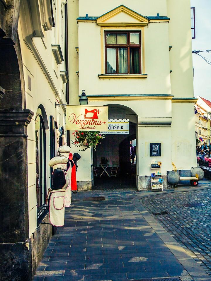 斯洛文尼亚首都卢布尔雅那(Ljubljana), 小巷文化_图1-28