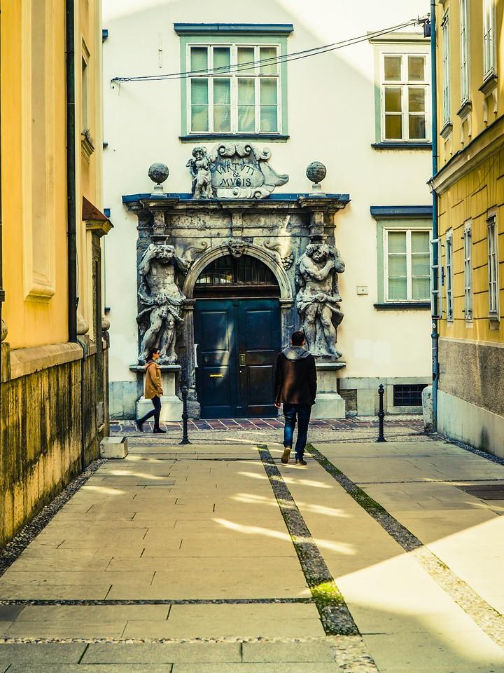 斯洛文尼亚首都卢布尔雅那(Ljubljana), 小巷文化_图1-27
