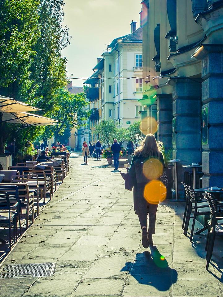斯洛文尼亚首都卢布尔雅那(Ljubljana), 小巷文化_图1-25
