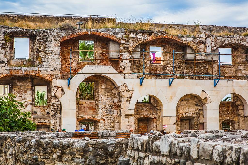 克罗地亚斯普利特(Split),老城建筑_图1-25