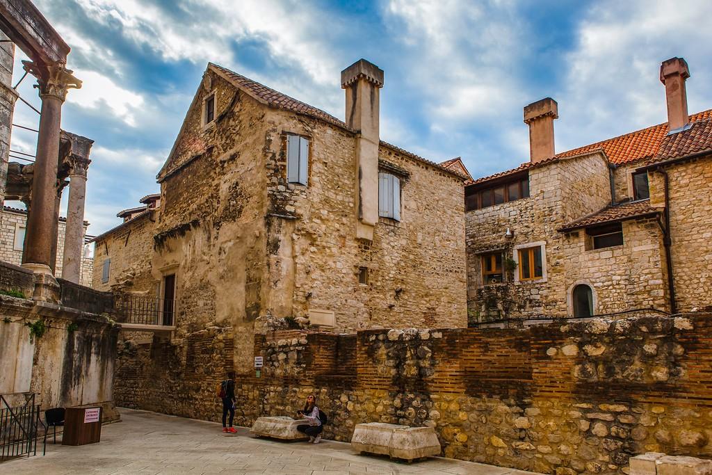克罗地亚斯普利特(Split),老城建筑_图1-21