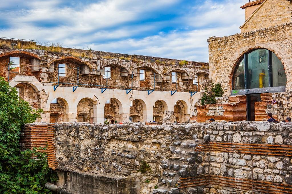 克罗地亚斯普利特(Split),老城建筑_图1-22