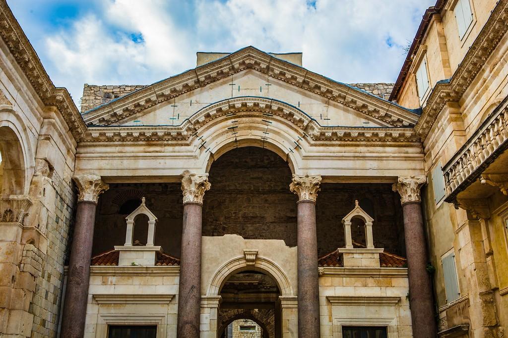 克罗地亚斯普利特(Split),老城建筑_图1-27