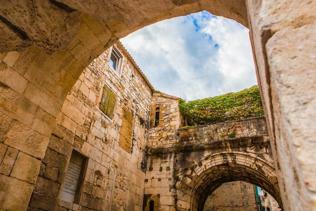 克罗地亚斯普利特(Split),老城建筑_图1-26
