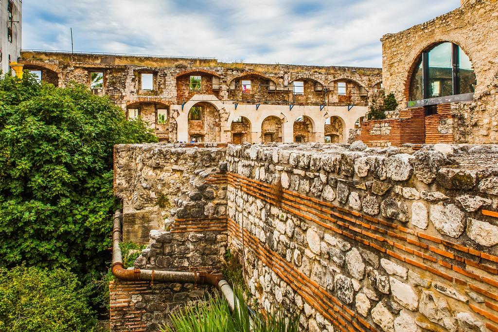 克罗地亚斯普利特(Split),老城建筑_图1-18