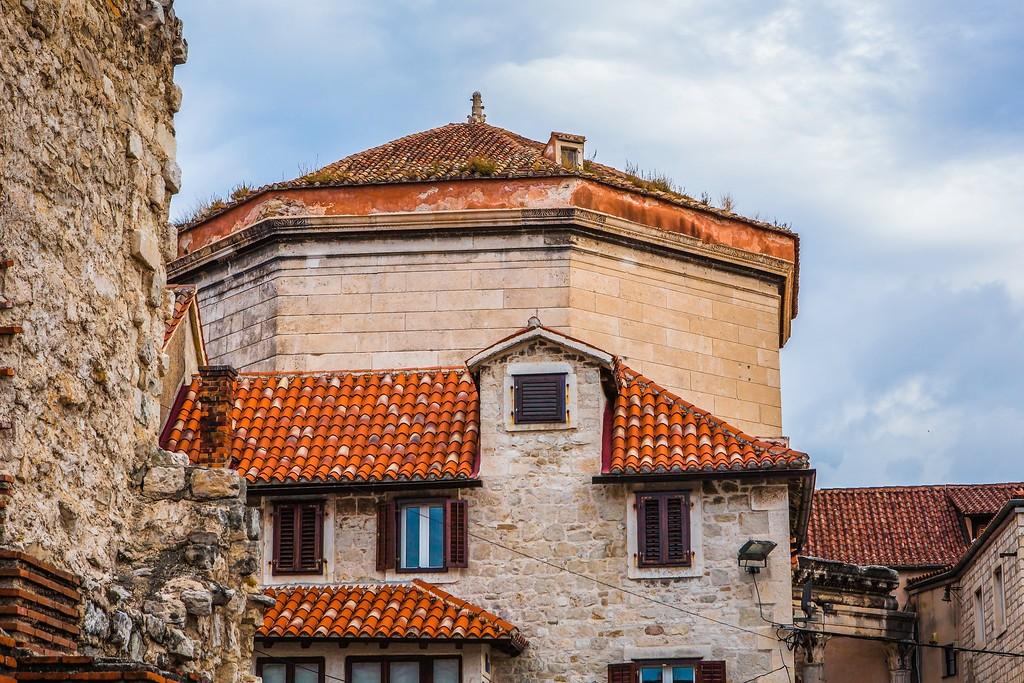 克罗地亚斯普利特(Split),老城建筑_图1-24