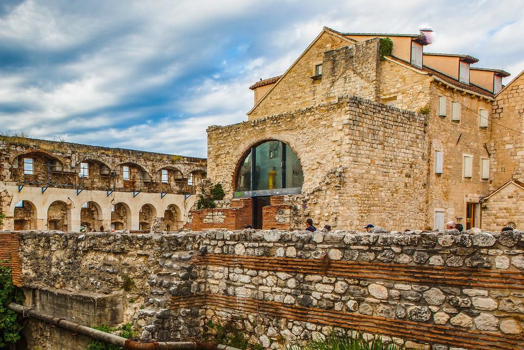 克罗地亚斯普利特(Split),老城建筑_图1-16